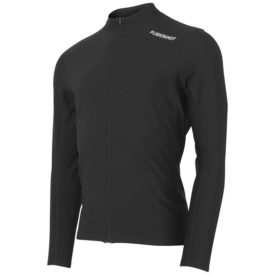 Fusion Mens Hot Zip Run Shirt