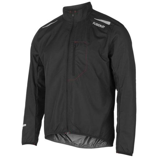 Fusion Mens S1 Run Jacket - Svart