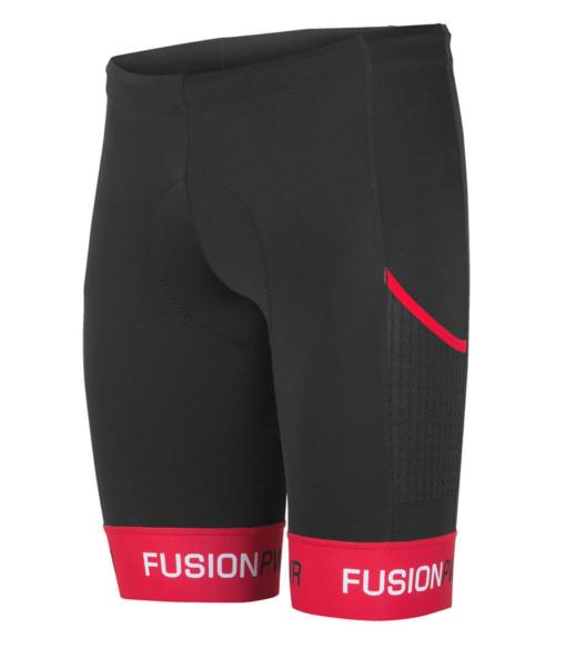 Fusion Tri Pwr Band Pocket Tight - Svart/Röd