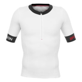 Fusion Tri Top W.Sleeves - Vit/Svart