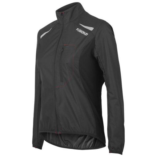 Fusion Womens S1 Run Jacket - Svart