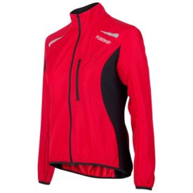 Fusion Womens S1 Run Jacket - Svart/Röd