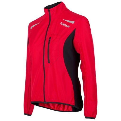 Fusion Womens S1 Run Jacket - Svart/Röd