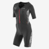 Orca Woman 226 Aero Race Suit - Svart/Orange