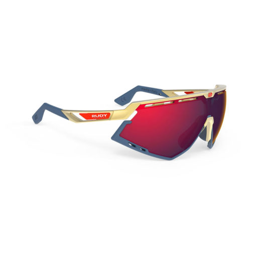 Rudy Project Defender - Gold RP Optics Multilaser Red