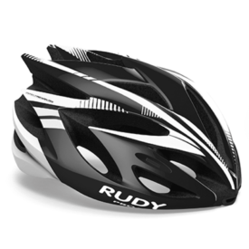 Rudy Project Rush Black-White Shiny