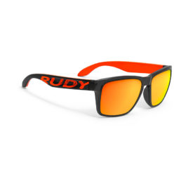 Rudy Project Spinhawk Loud Crystal Ash - RP Optics Multilaser Orange