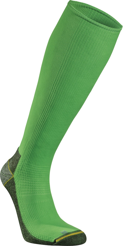 Seger Running Mid Compression - Neon Green