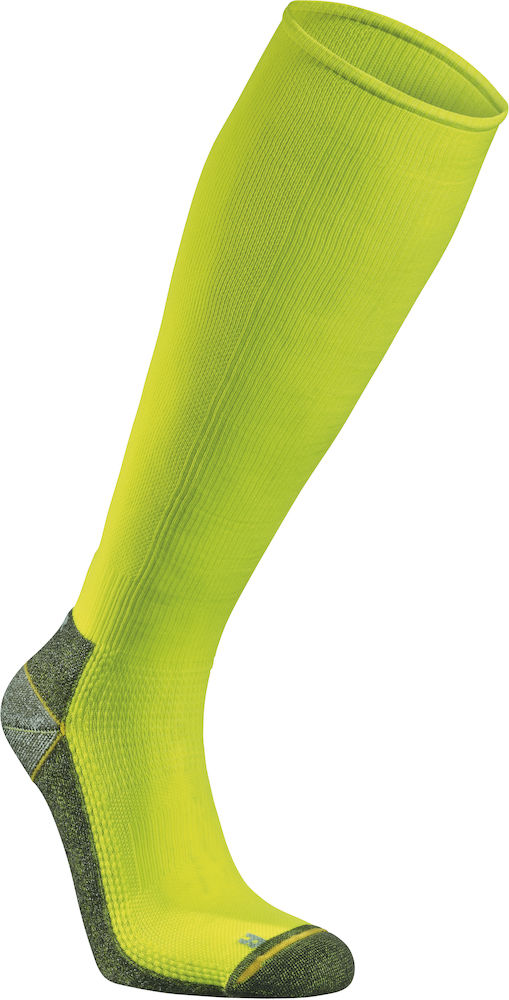 Seger Running Mid Compression - Neon Yellow
