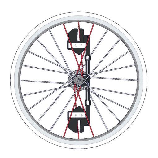 Stac Zero - Wheel Weight - Hjulvikt