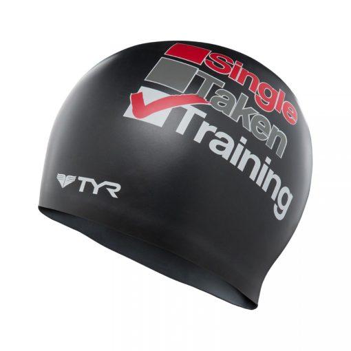 TYR Silicone Cap - Badmössa - The Training