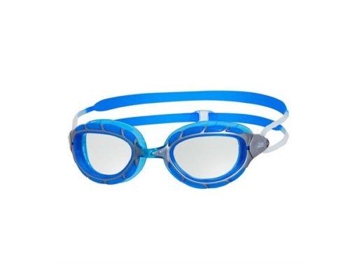 Zoggs Predator - Blå/Silver/Klar - Simglasögon