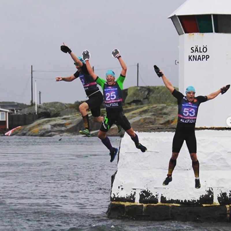Ten Island Swimrun Fyren Sälö Knapp
