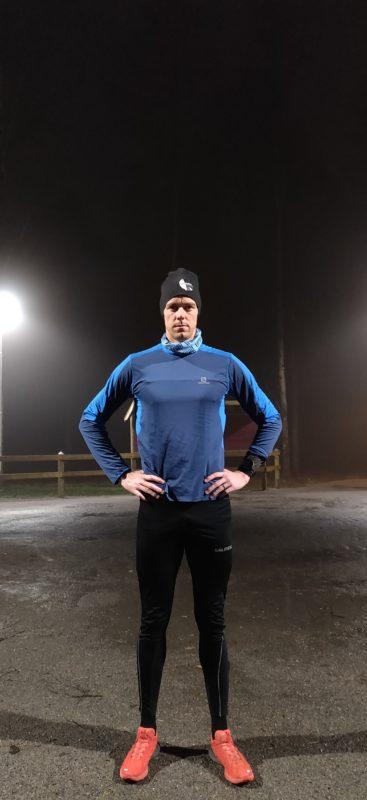 Motivation - man i löparkläder