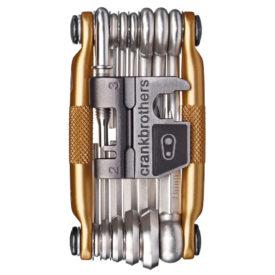 Multiverktyg för cykel - Crankbrothers M19 Multi Tool - Gold
