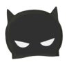 Zoggs Silikon Badmössa Swim Cap Batman 3D front