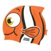 Zoggs Silikon Badmössa Swim Cap Orange Clownfisk