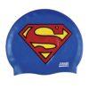 Zoggs Silikon Badmössa Swim Cap Superman
