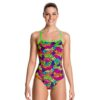 Funkita Cross Back One Piece – Paradise Wings Front